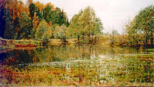 Marsh 1997 | Vladimir Nujdin | Oil Painting