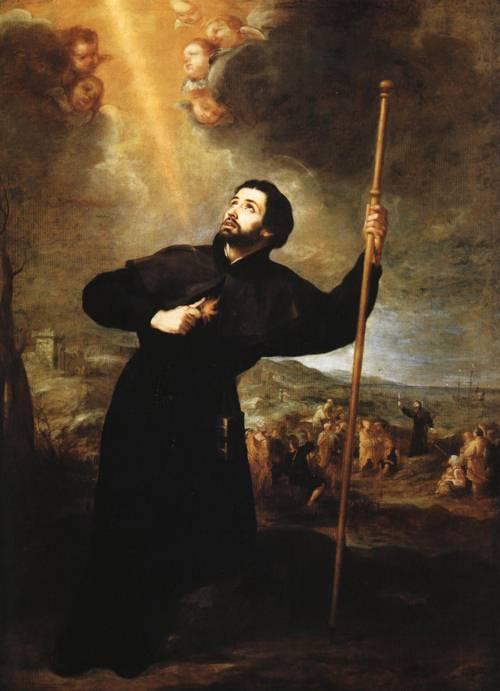 St. Francis Xavier (St. Francis Xavier) | Bartolome Esteban Murillo | Oil Painting