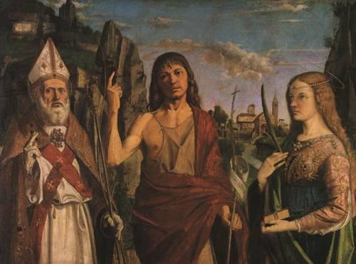 Three Saint (St. Zeno of Verona) | Bartolomeo Montagna | Oil Painting