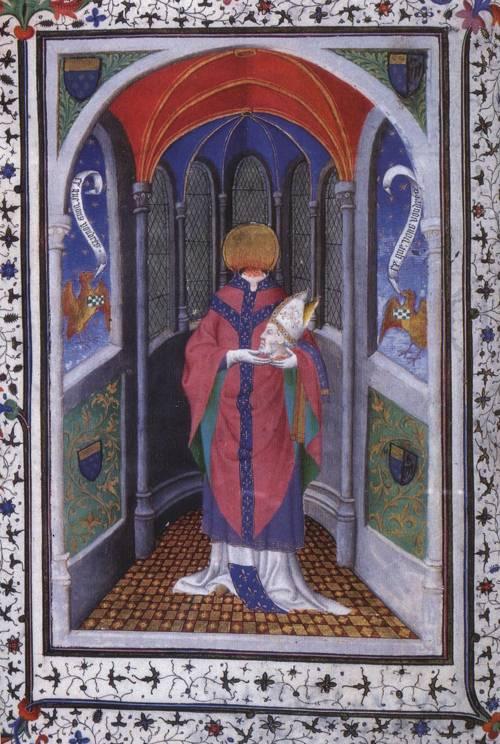 St. Denis (St. Denis) | Boucicaut Master | Oil Painting