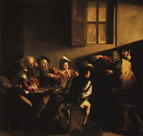 The Calling of St. Matthew (St. Matthew) | Caravaggio | Oil Painting