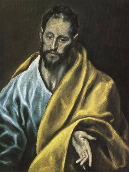 St. James the Less (St. James the Less) | El Greco 1586 1590 | Oil Painting