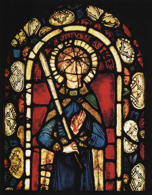 St. Timothy (St. Timothy) | From Abbey of Neuwiller en Alsace 12th Century | Oil Painting