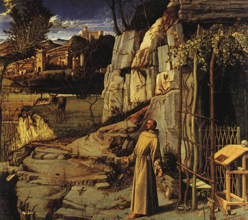 St. Francis in the Desert (St. Francis of Assisi) | Giovanni Bellini | Oil Painting