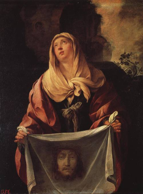 St. Veronica (St. Veronica) | Jacques Blanchard | Oil Painting