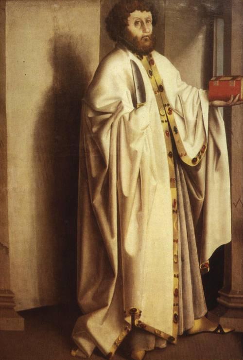 St. Bartholomew (St. Bartholomew) | Konrad Witz | Oil Painting