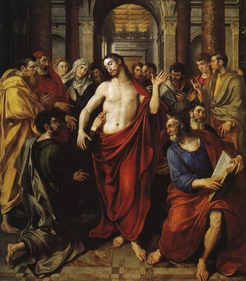 St. Thomas Altar (St. Thomas) | Marten de Vos 1574 | Oil Painting