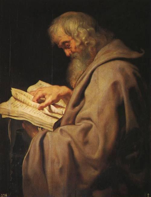 St. Simon (St. Simon) | Peter Paul Rubens | Oil Painting