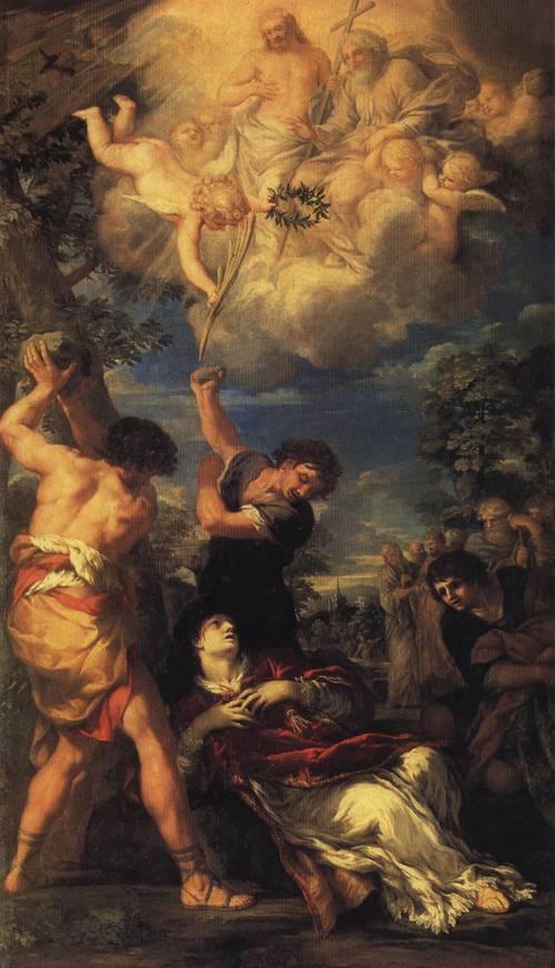 The Stoning of St. Stephen (St. Stephen) | Pietro da Cortona | Oil Painting