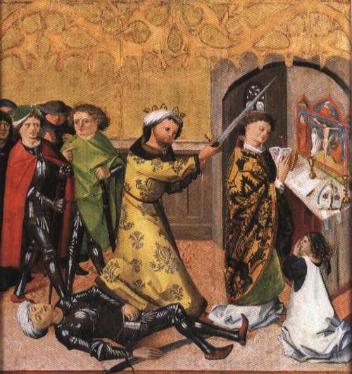 Martyrdom of St. Stanislaus of Cracow (St. Stanislaus) | Unknow Artist 1490 | Oil Painting