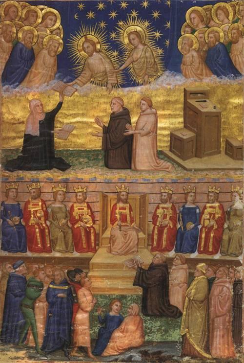 St. Bridget of Sweden Revelations in Latin (St. Bridget) | Unknow Artist 14th Cent. | Oil Painting