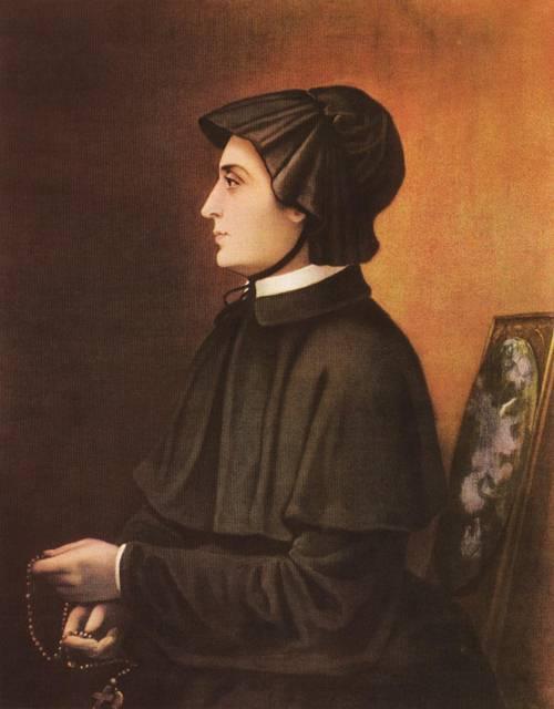 The Filicchi Portrait of St. Elizabeth Ann Seton (St. Elizabeth Ann Seton) | Unknown Artist 1804 | Oil Painting
