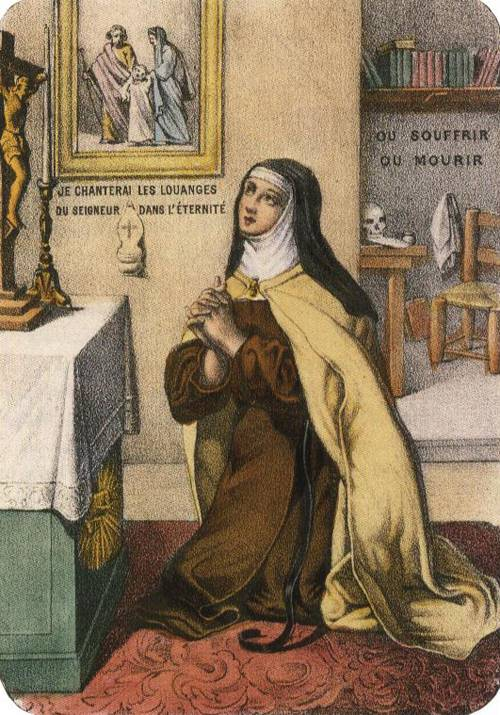 St. Therese of Lisieux (St. Therese of Lisieux) | Unknown Artist 19th cent. | Oil Painting