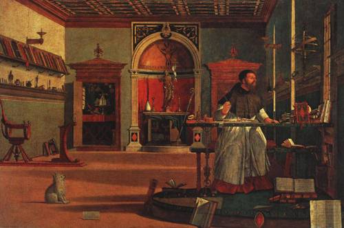 St. Augustine in His Study (St. Augustine) | Vittore Carpaccio 1511 | Oil Painting