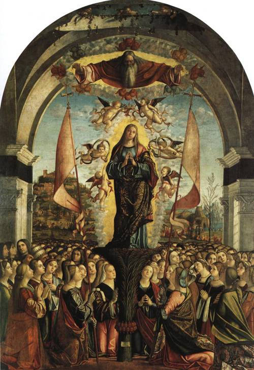 The Apotheosis of St. Ursula (SS. Ursula and Her Maidens) | Vittore Carpaccio | Oil Painting
