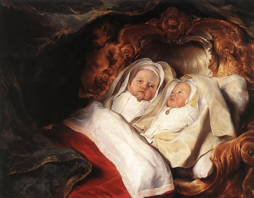 The Twins Clara and Aelbert de Bray 1646 | Salomon De Bray | Oil Painting