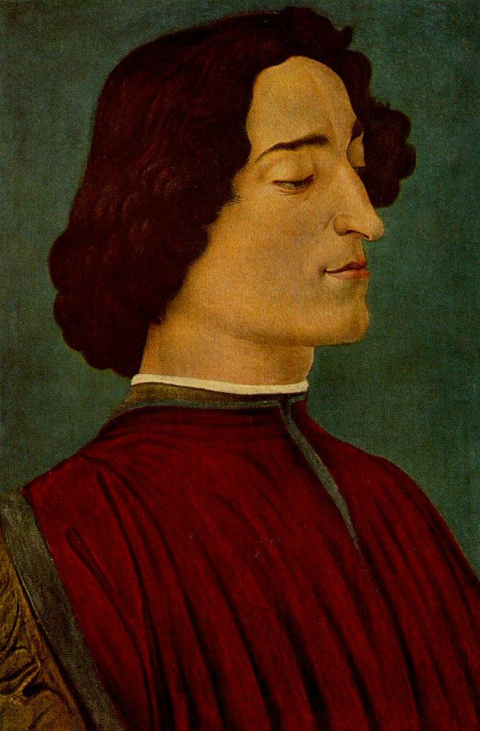 Giuliano De Medici 1478 | Sandro Botticelli | Oil Painting