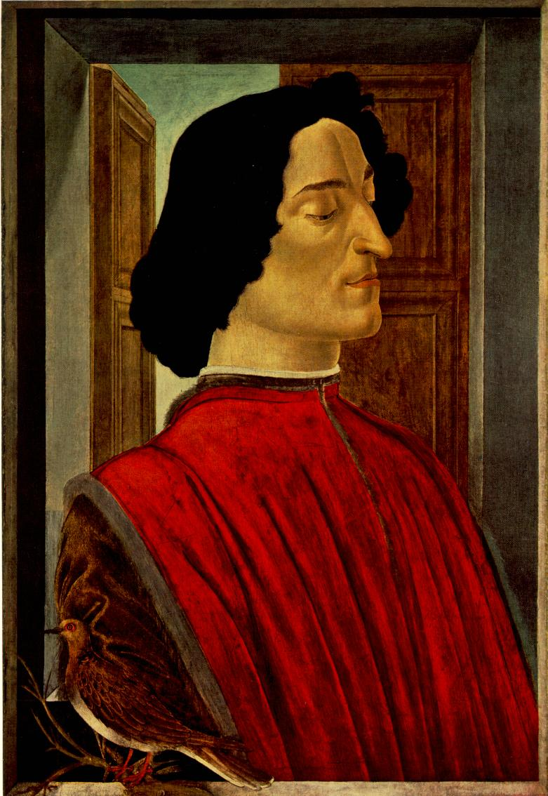 Giuliano De Medici | Sandro Botticelli | Oil Painting