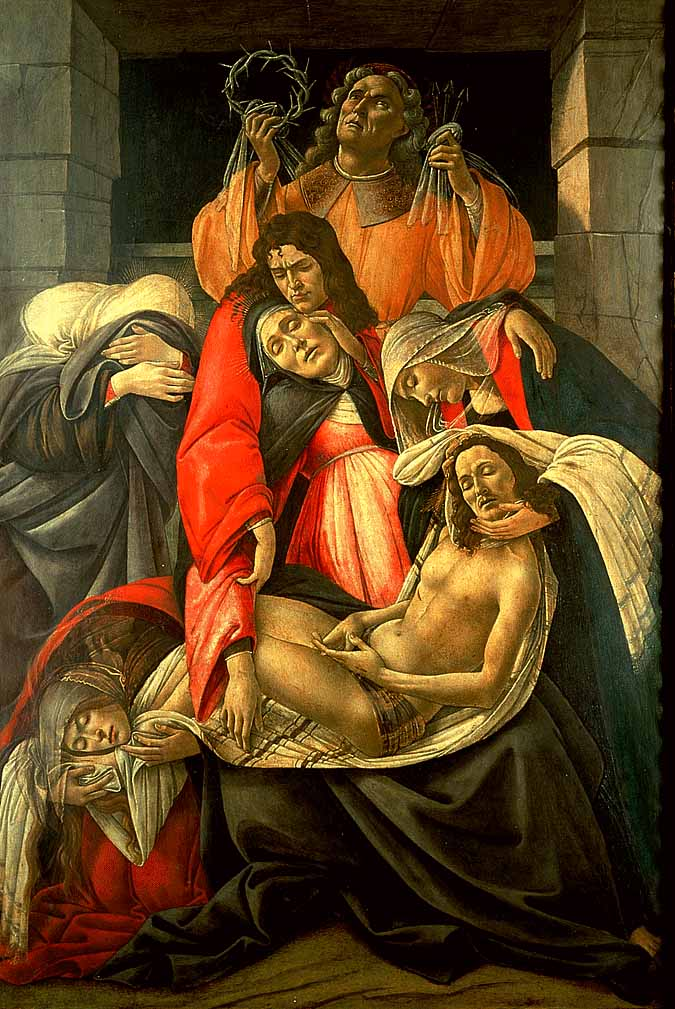 Lamentation Over The Dead Christ 1495 | Sandro Botticelli | Oil Painting