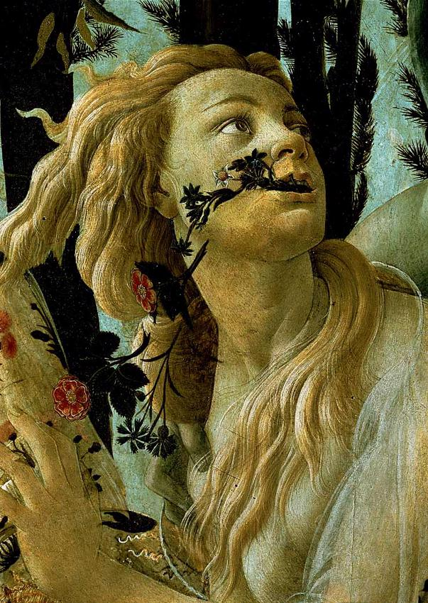 La Primavera Allegory Of Spring (Detail) 1477-78 | Sandro Botticelli | Oil Painting