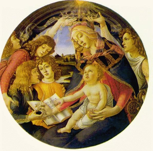Madonna Of The Magnificat C1485 | Sandro Botticelli | Oil Painting
