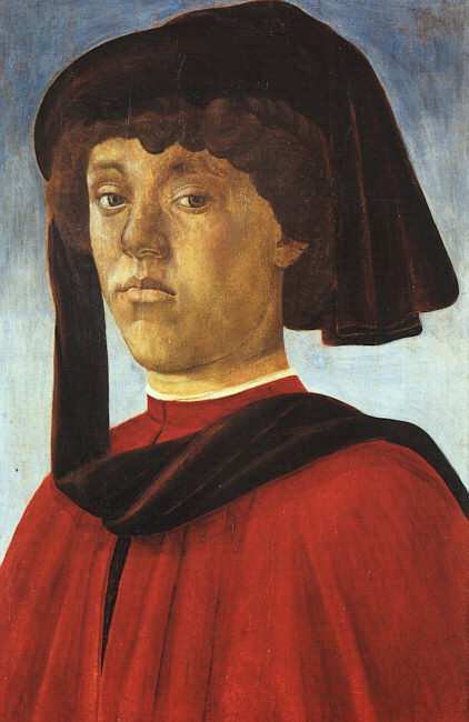 Portrait Of A Young Man 1469 | Sandro Botticelli | Oil Painting