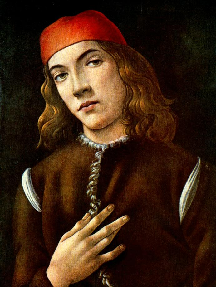 Portrait Of A Young Man 1483 | Sandro Botticelli | Oil Painting