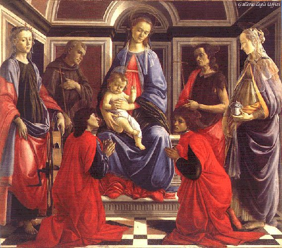 Santambrogio Altarpiece C1467-70 | Sandro Botticelli | Oil Painting