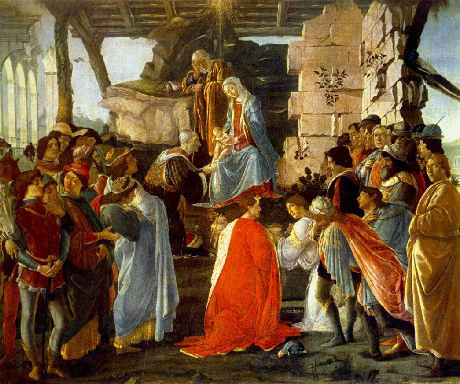 The Adoration Of The Magi 1470-75 | Sandro Botticelli | Oil Painting