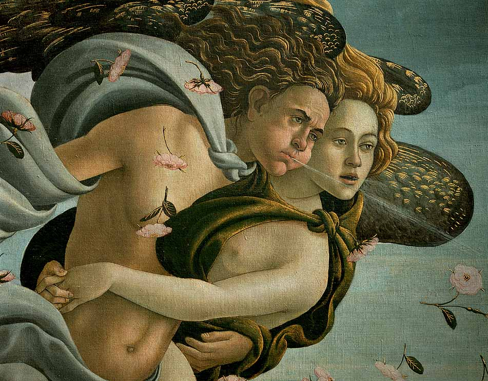 The Birth Of Venus (Detail) (Detail) C1485 | Sandro Botticelli | Oil Painting
