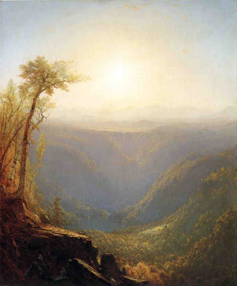 A Gorge in the Mountains (aka Kauterskill Clove) 1862 | Sanford Robinson Gifford | Oil Painting