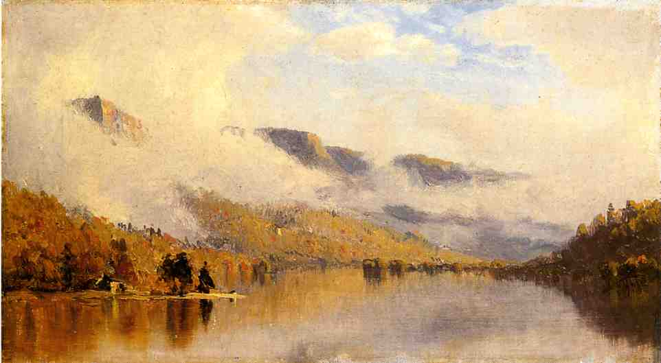 Clearing Storm over Lake George 1863 | Sanford Robinson Gifford | Oil Painting
