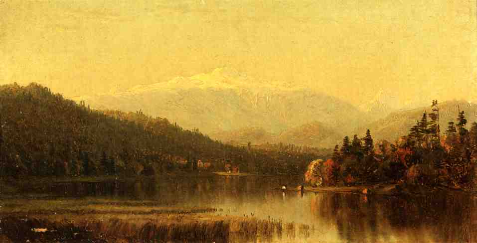Sunset in the White Mountain | Sanford Robinson Gifford | Oil Painting