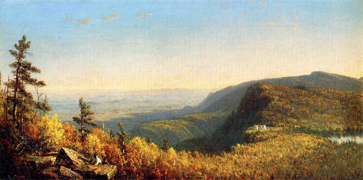 The Catskill Mountain House 1862 | Sanford Robinson Gifford | Oil Painting
