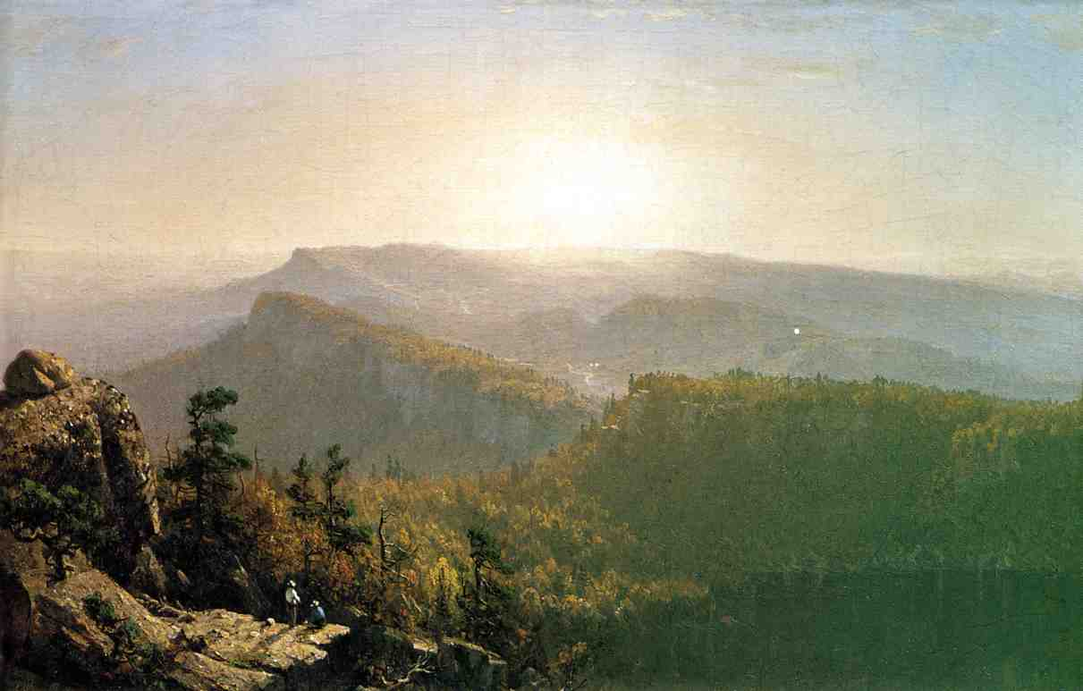 The Shawangunk Mountains 1864 | Sanford Robinson Gifford | Oil Painting