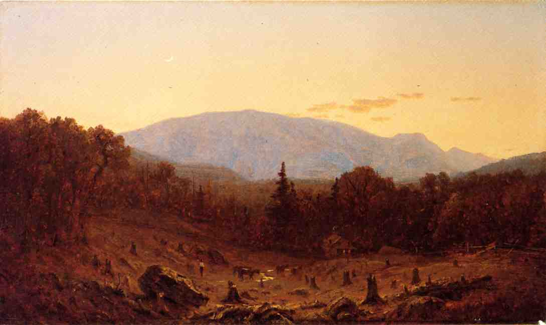 Twilight on Hunter Mountain 1867 | Sanford Robinson Gifford | Oil Painting