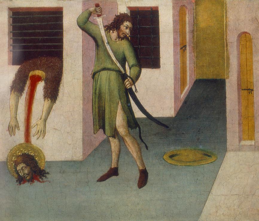 Beheading Of St John The Baptist | Sano Di Pietro | Oil Painting