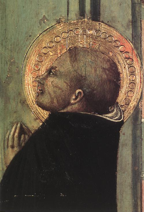 St Thomas Inspired By The Dove Of The Holy Ghost Detail II 1423 | Sassetta | Oil Painting