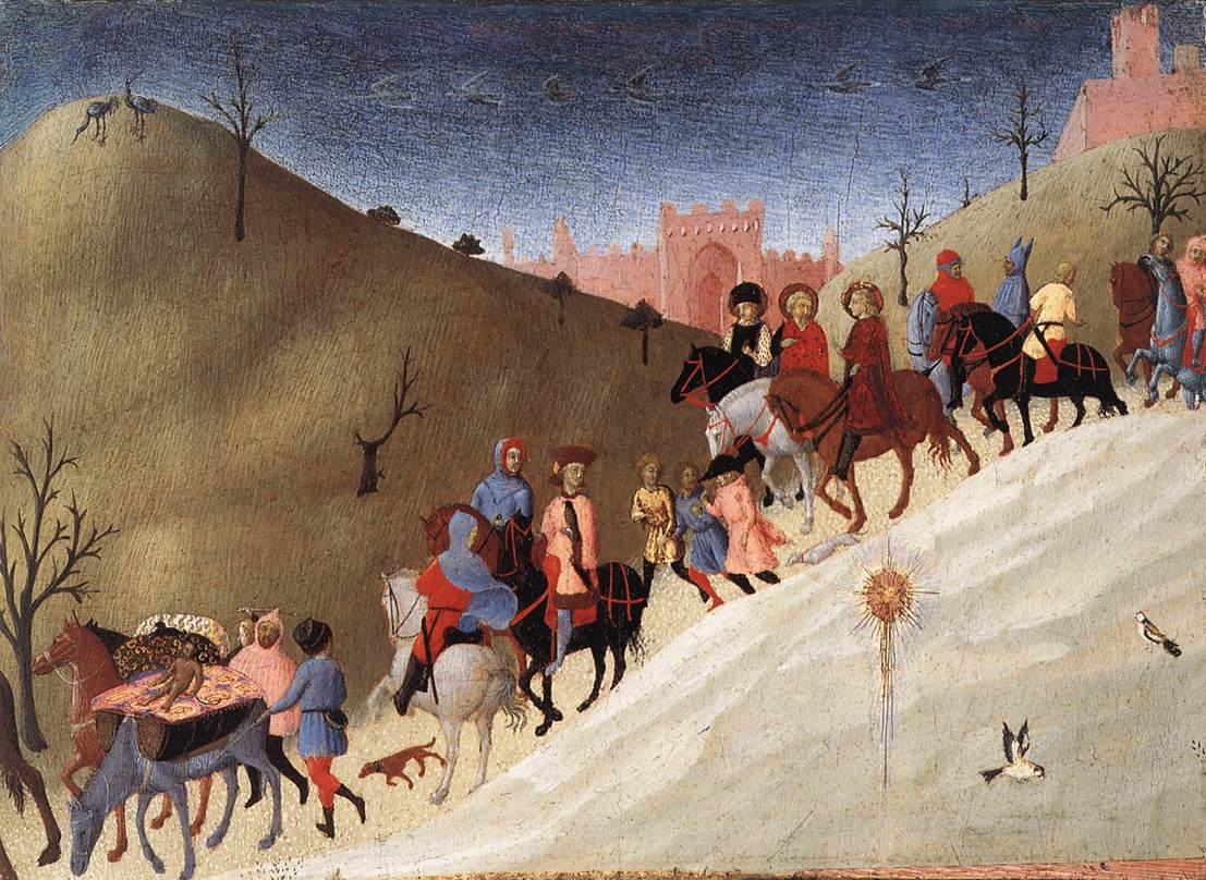 The Journey Of The Magi 1435 | Sassetta | Oil Painting