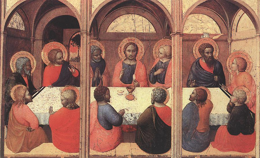 The Last Supper 1423 | Sassetta | Oil Painting