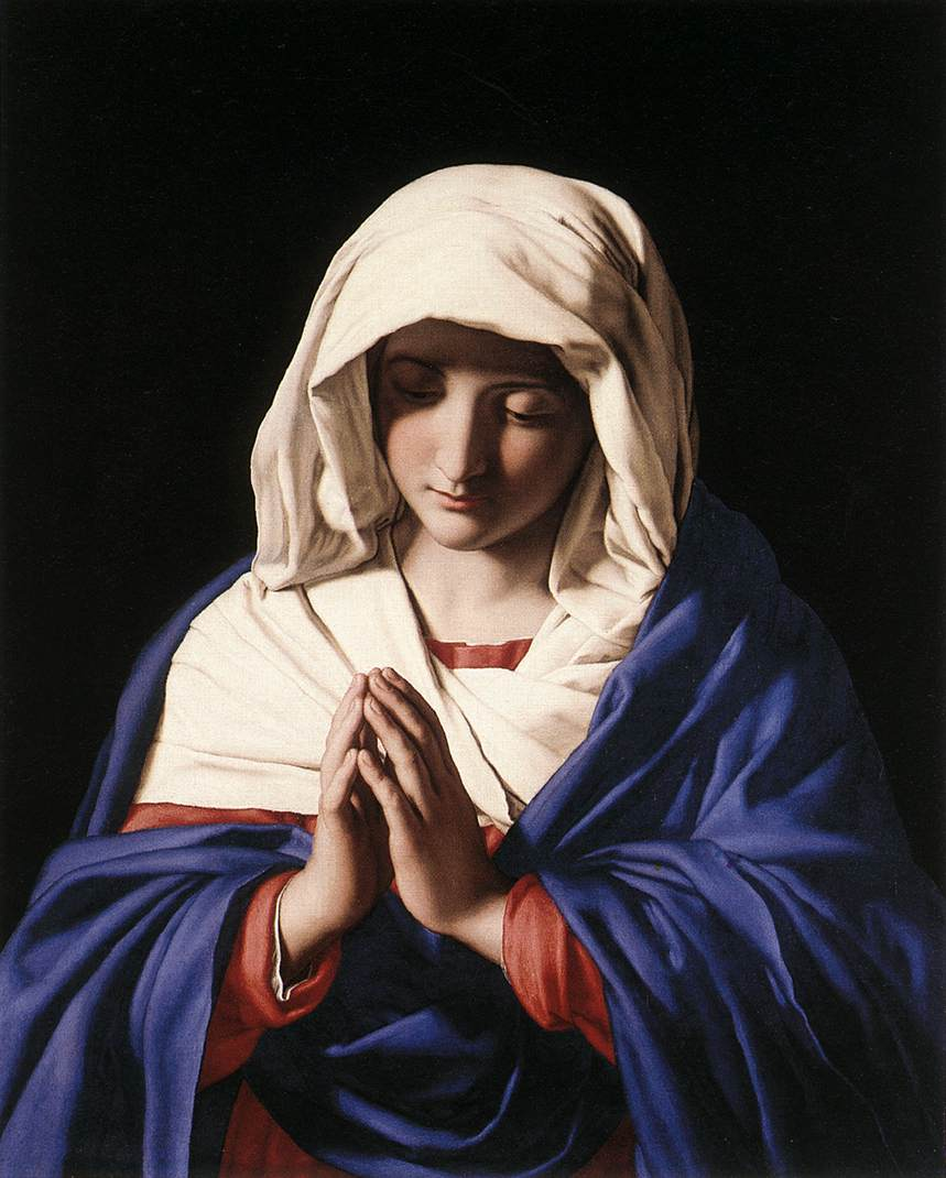 The Virgin In Prayer 1640 50 | Sassoferrato | Oil Painting