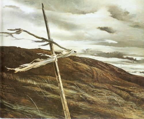 Dodges Ridge 1947 | Andrew Wyeth | Oil Painting
