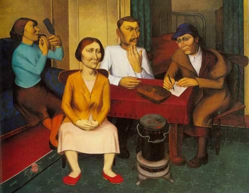 Relief Blues 1938 | O Louis Guglielmi | Oil Painting