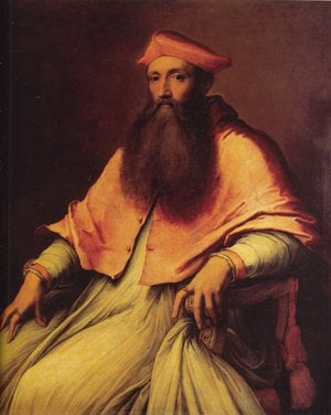 Portrait of Cardinal Reginald Pole | Sebastiano Del Piombo | Oil Painting