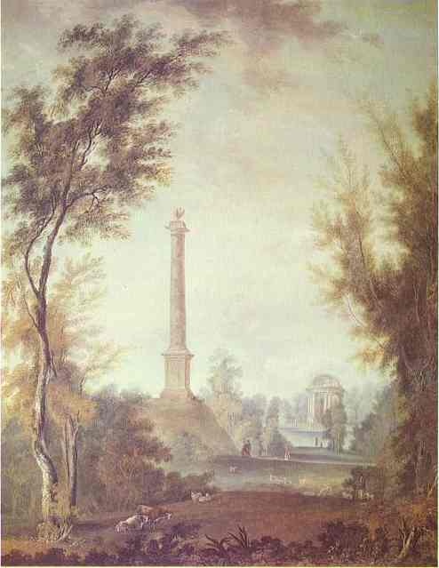 The Eagle Column At Gatchina 1798 | Semion Shchedrin | Oil Painting
