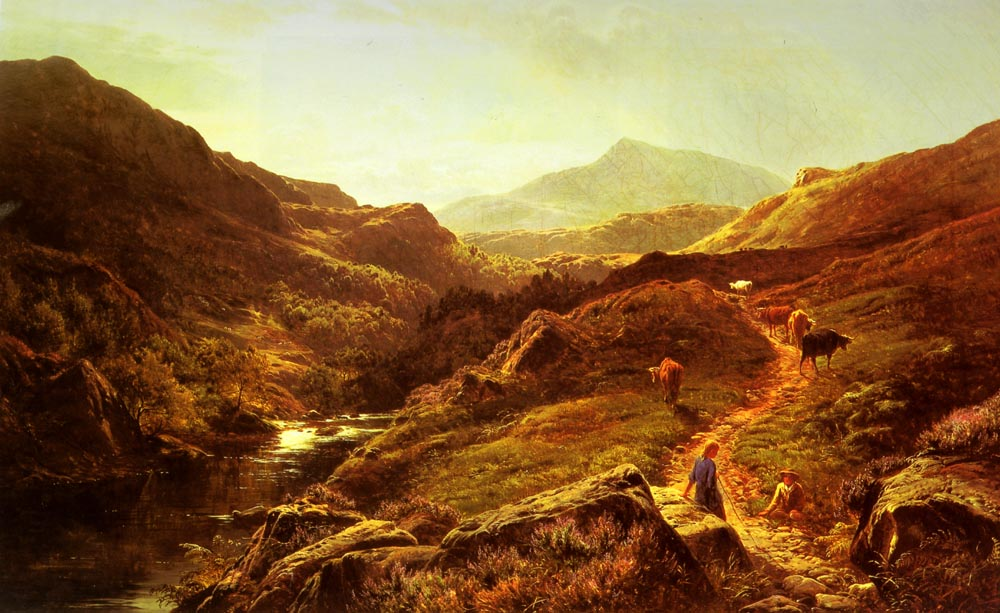 Moel Siabod from Glyn Lledr | Sidney Richard Percy | Oil Painting