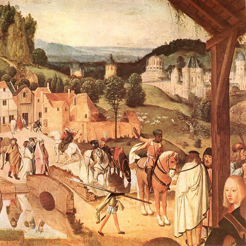 Adoration Of The Magi (Detail) 1480-85 | Sint Jans Geertgen | Oil Painting