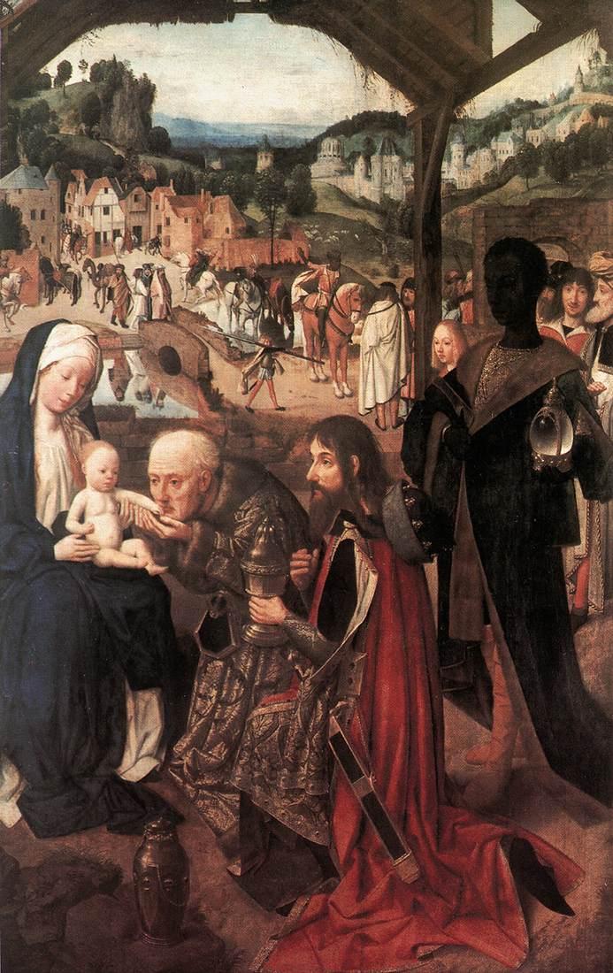 John The Baptist In The Wilderness 1490-95 | Sint Jans Geertgen | Oil Painting