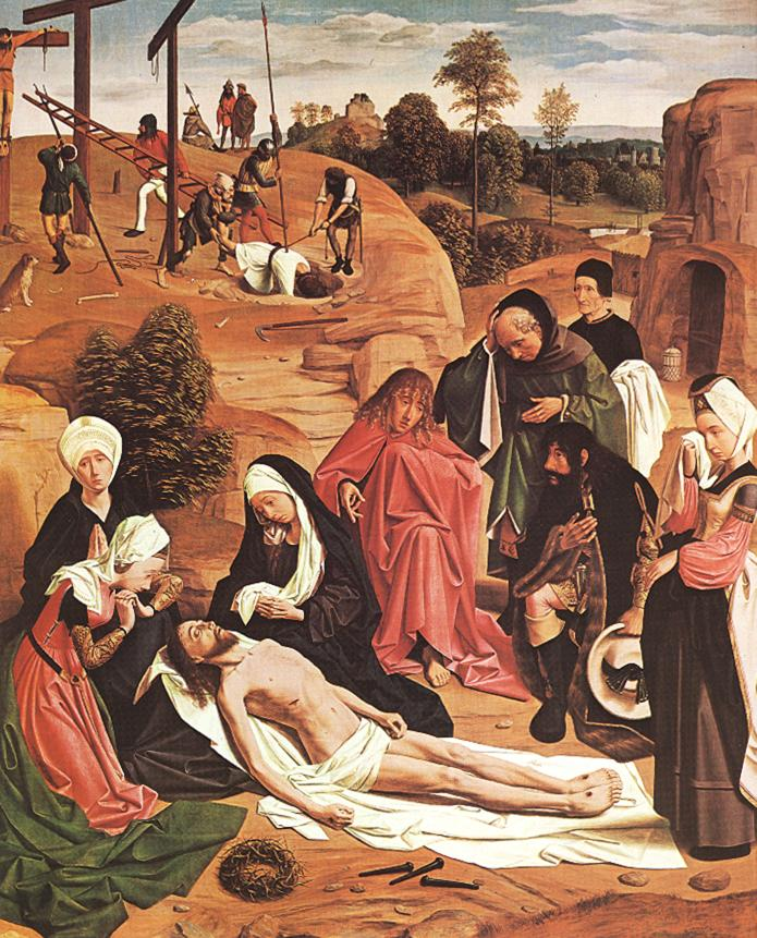 Lamentation Over The Dead Christ 1485-90 | Sint Jans Geertgen | Oil Painting