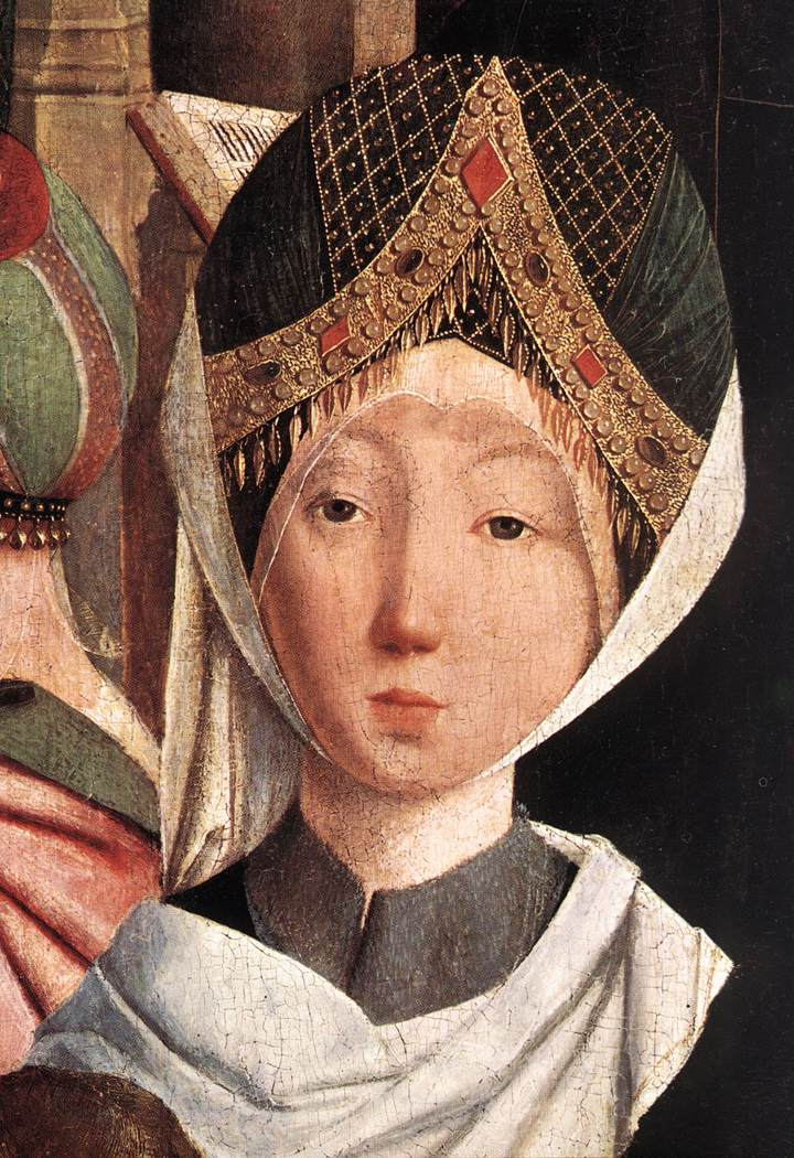 The Holy Kinship (Detail) 1475-80 | Sint Jans Geertgen | Oil Painting